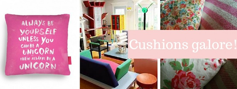 Top 8… Colourful CUSHIONS