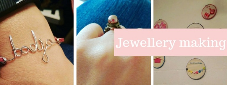Tea and Crafting class: Jewellery making